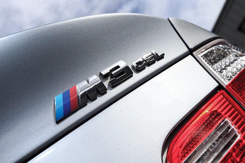 Bmw -e 46-m 3-csl -rear -badge