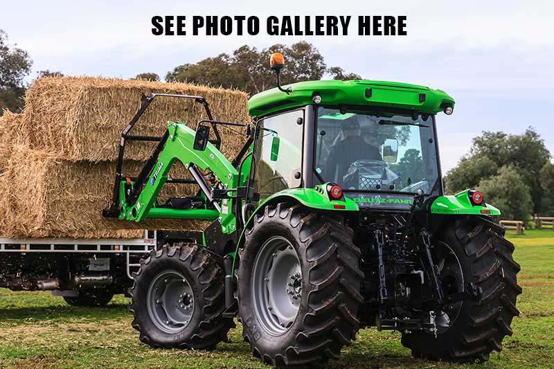 Deutz Fahr 5105.4G tractor photo gallery