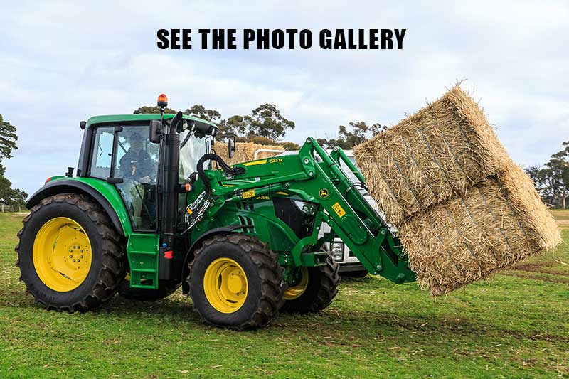 John Deere 6105M tractor photo gallery
