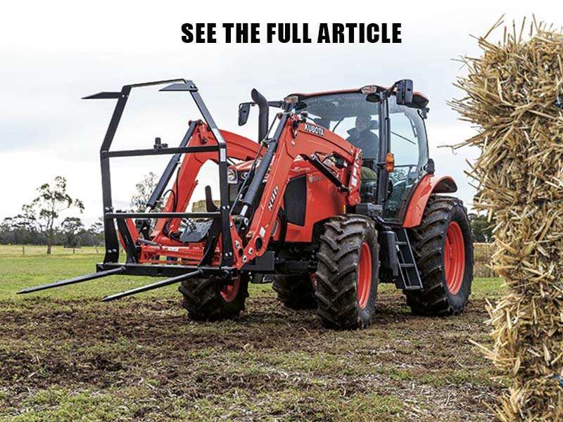 Kubota M100GX tractor reviewed