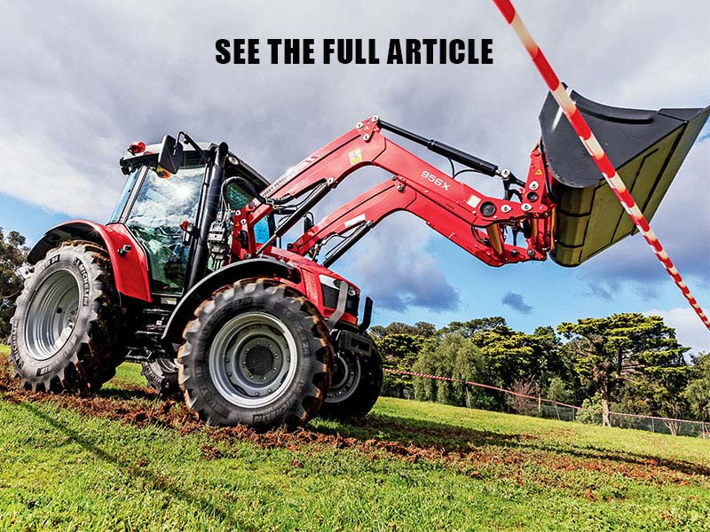Massey Ferguson MF5609 tractor review