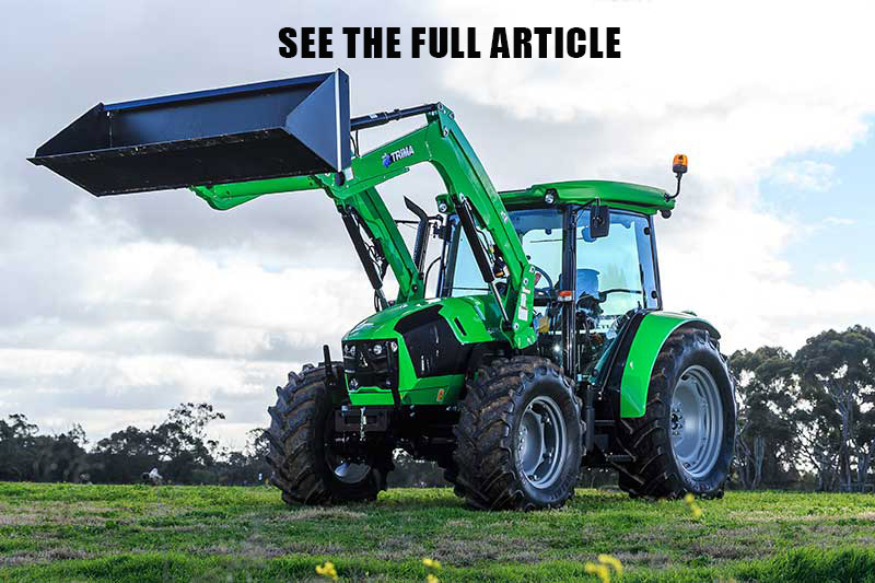 Deutz Fahr 5105.4G tractor review