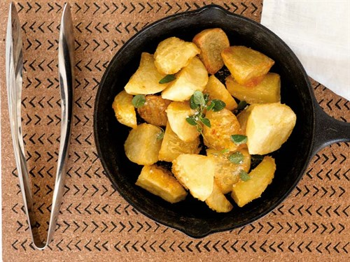 Duck -fat -potatoes