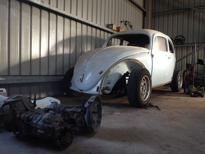 Moving -shed -vw -beetle