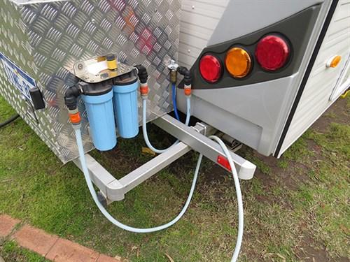 Caravan Storage Easy Water Filtration & Clever caravan storage ideas