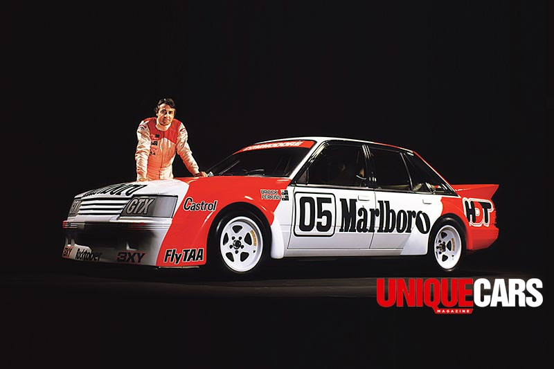 Peter -Brock -with -Marlboro -VK-Commodore -logo
