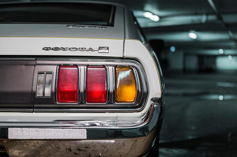 Toyota -celica -taillight