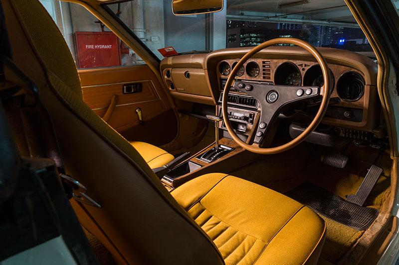 Toyota -celica -interior
