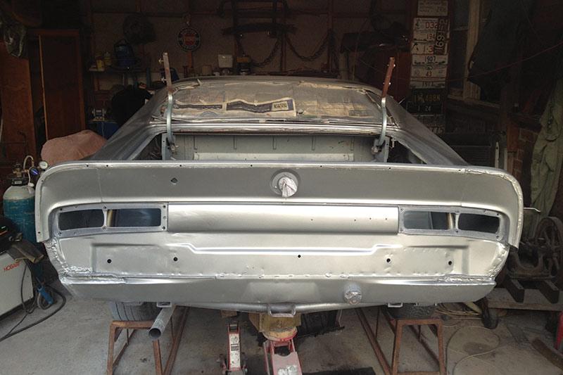 Chrysler -valiant -charger -resto -rear