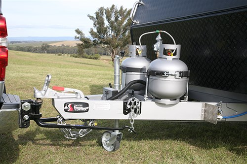 Caravan Towball Weight