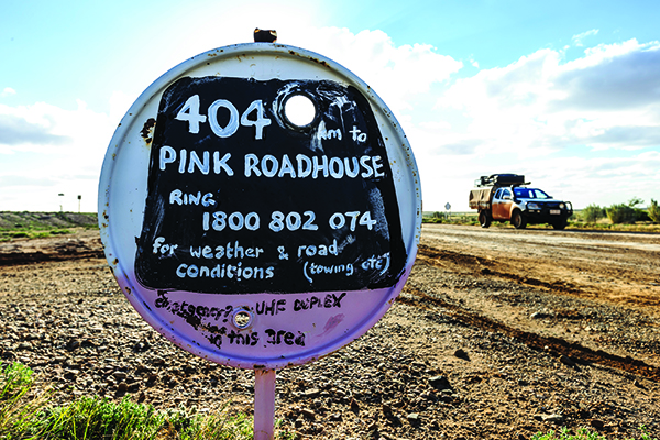 Pink Roadhouse SA 4