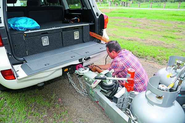 Oz Glide Tow Hitch Product Test