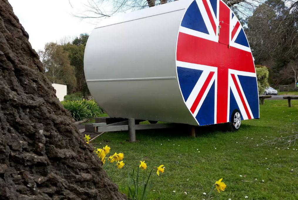 Forrest -British -caravan