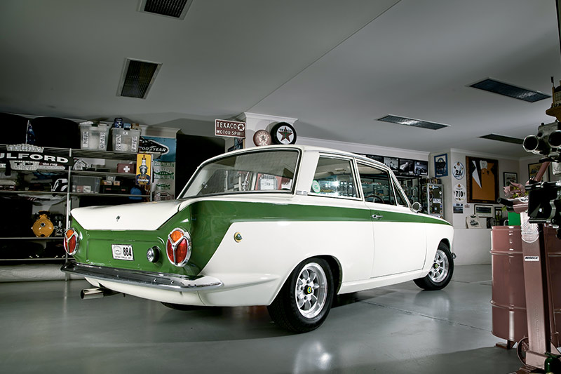 Lotus -Cortina -rear