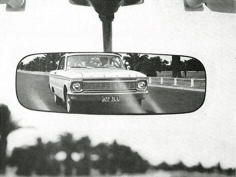 Ford -falcon -mirror