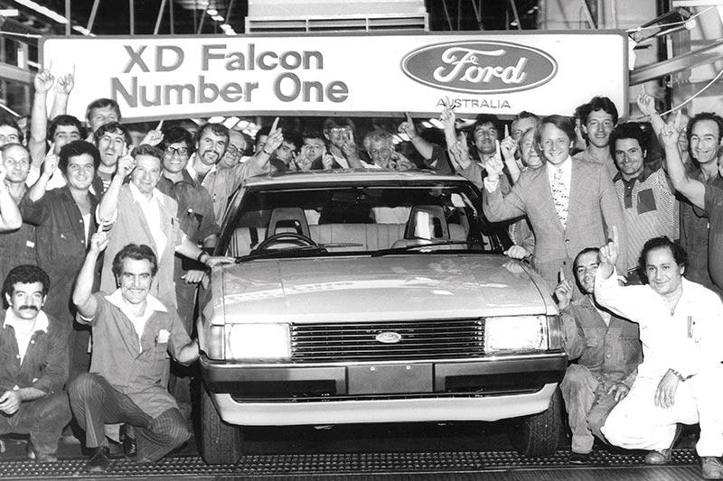 Ford -falcon -xd