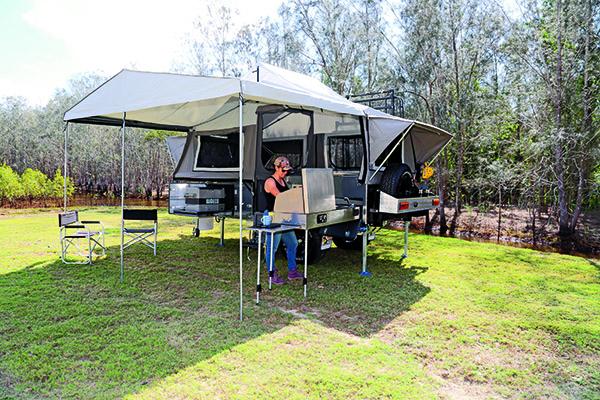 Emu Camper Trailers Desert Series 2 Forward Fold 2