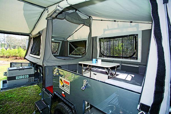 Emu Camper Trailers Desert Series 2 Forward Fold 3