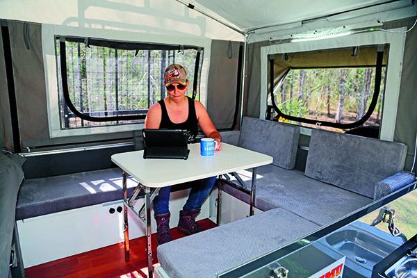 Emu Camper Trailers Desert Series 2 Forward Fold 4