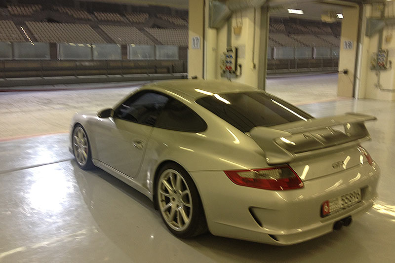 Porsche 0911-rear