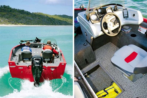 Details of Tracker Pro Guide boat