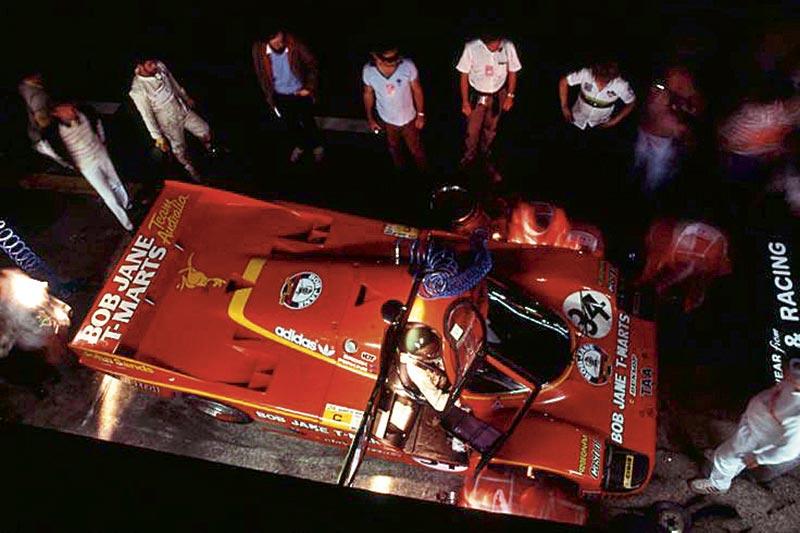 Brock Le Mans Pit Crew