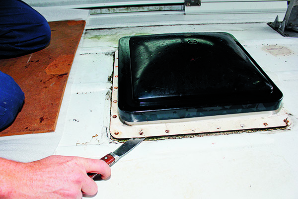 How To Replace A Roof Hatch 1