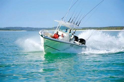 Mako 284 Centre Console fishing boat