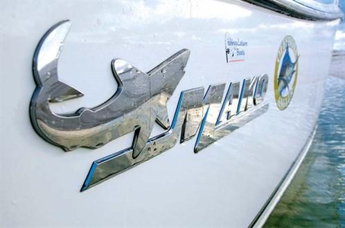 Mako 284 boat decal