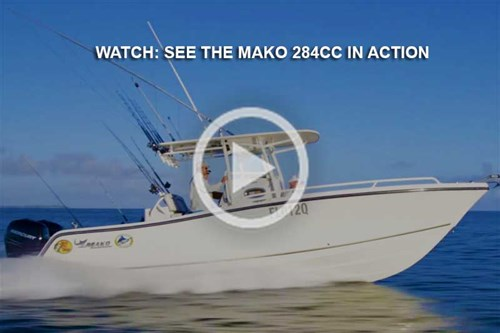 Mako 284 Centre Console video