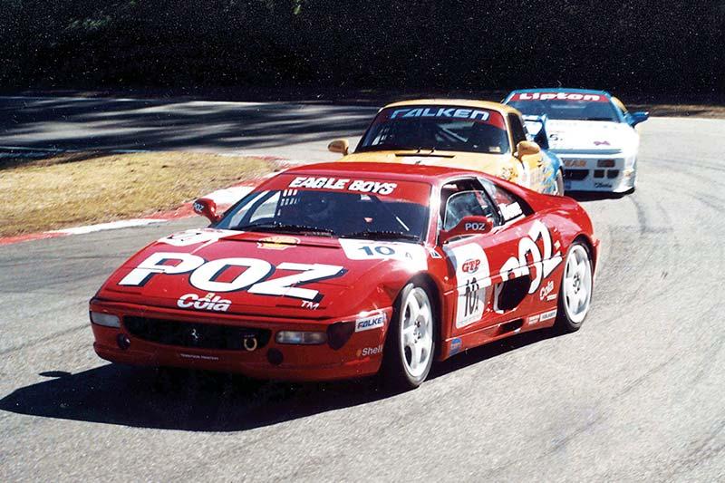 1996-AMAROO-POZ-COLA-FERRARI---Looking -back -car
