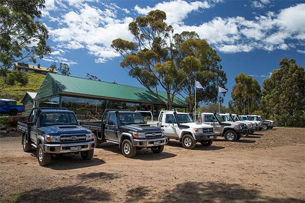 Toyota -Landcruiser ,-Launch ,-Review ,-Matt -Wood ,-70-Series ,-Trade Trucks5