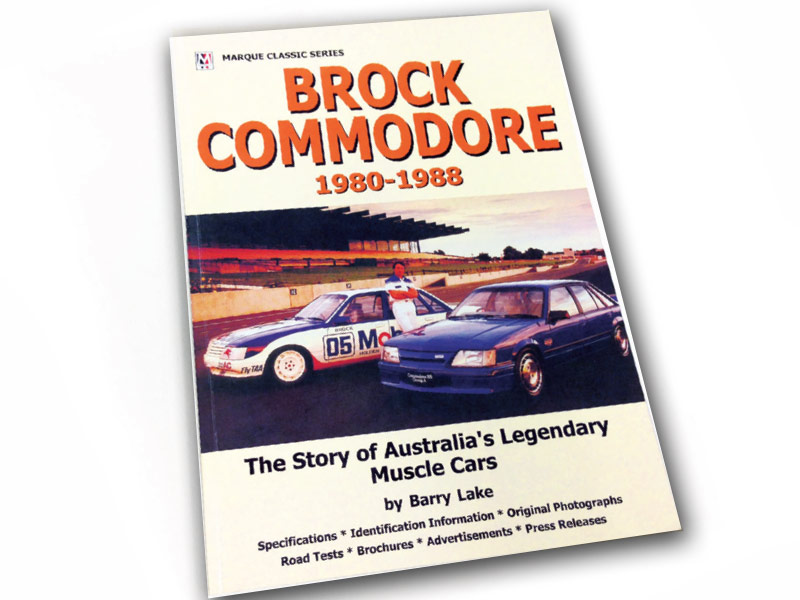 Brock -commodore -book