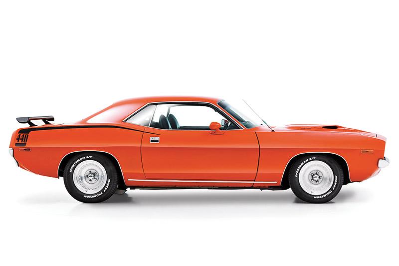 Plymouth -barracuda -side