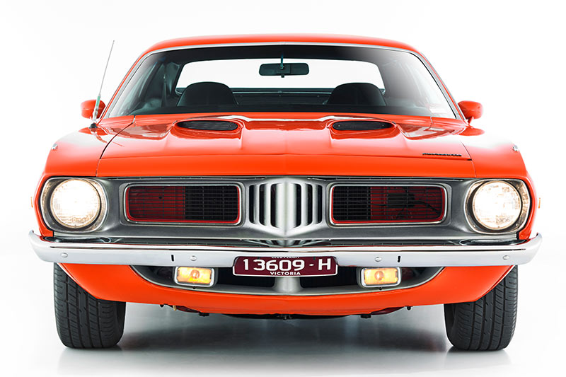 Plymouth -barracuda -front -2