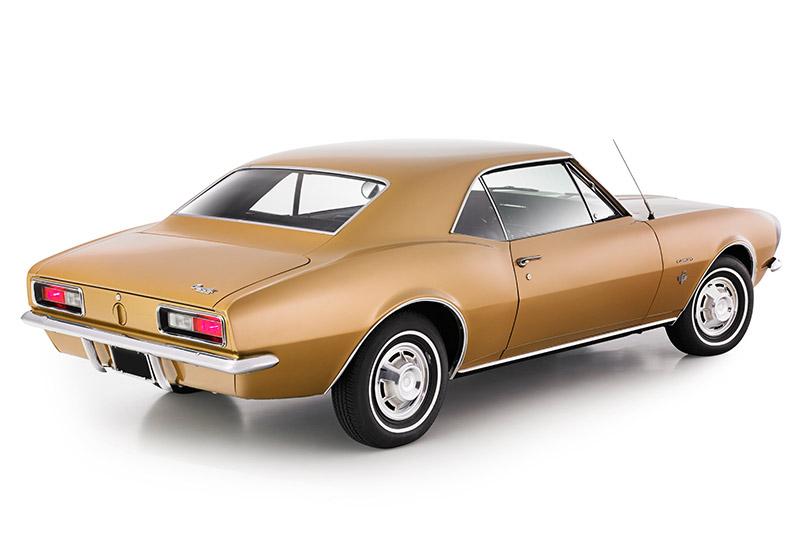 Chevrolet -camaro -rear -angle