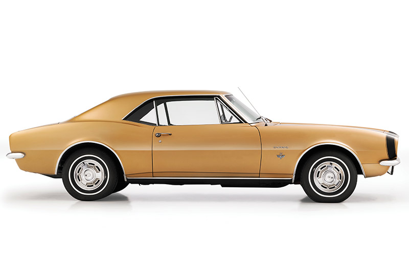 Chevrolet -camaro -side