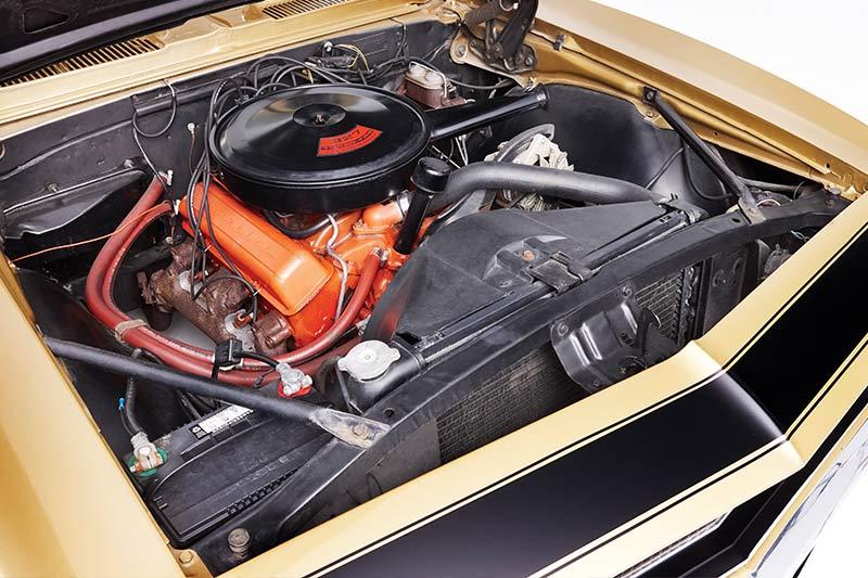 Chevrolet -camaro -engine