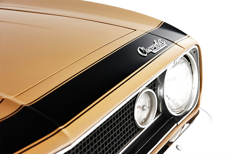 Chevrolet -camaro -headlight