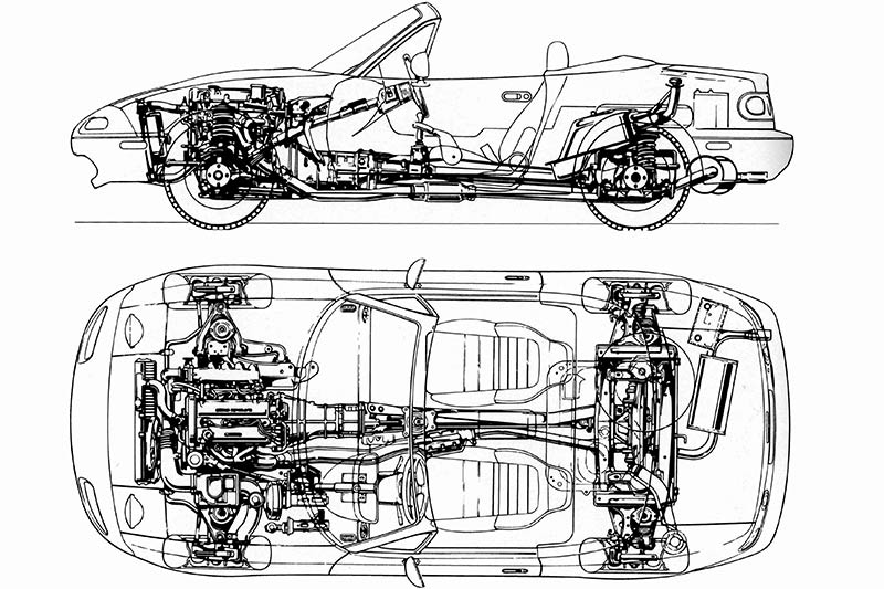 Mazda -mx 5-diagram