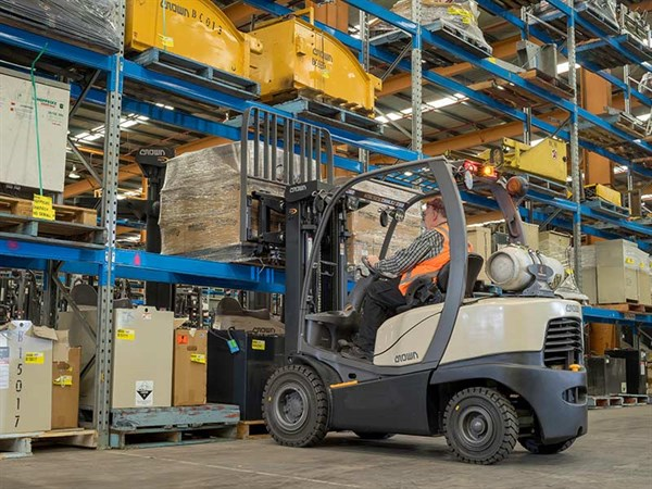 Crown -C5,-Forklift -Review ,-ATN3