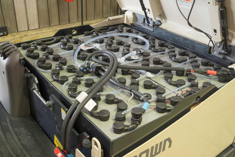 Crown FC 5200 forklift battery