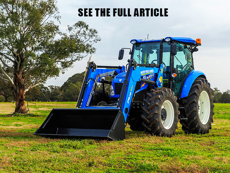 New Holland TD 5.90 tractor review
