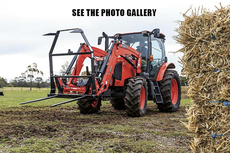Kubota M100GX photo gallery