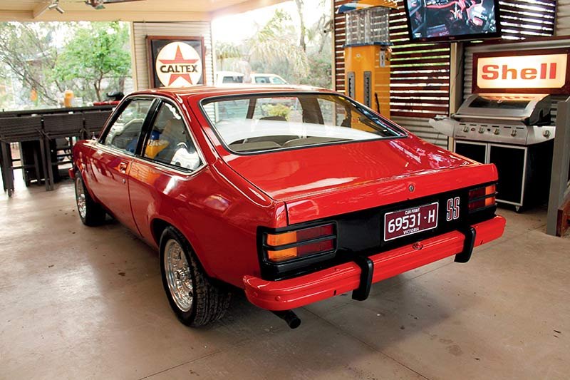Holden -torana -hatch -rear