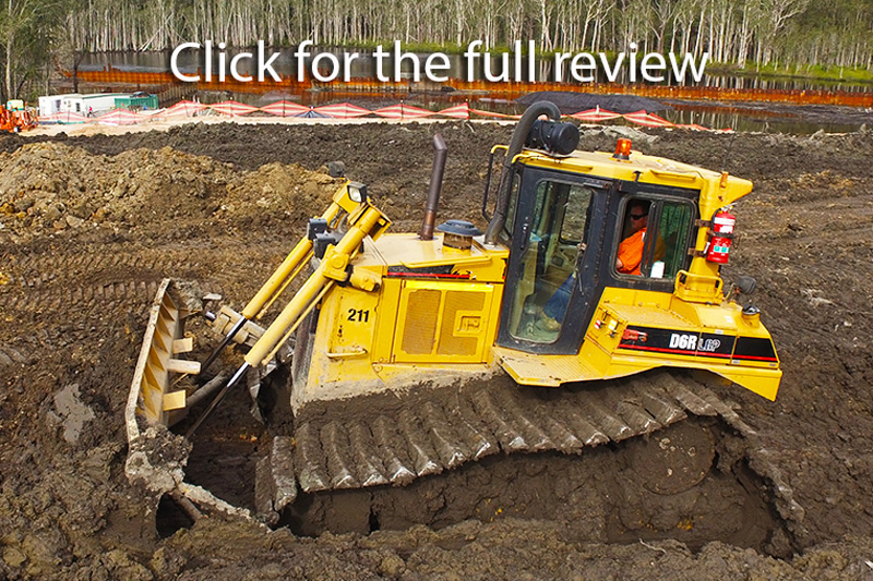 Cat D6R swamp dozer review