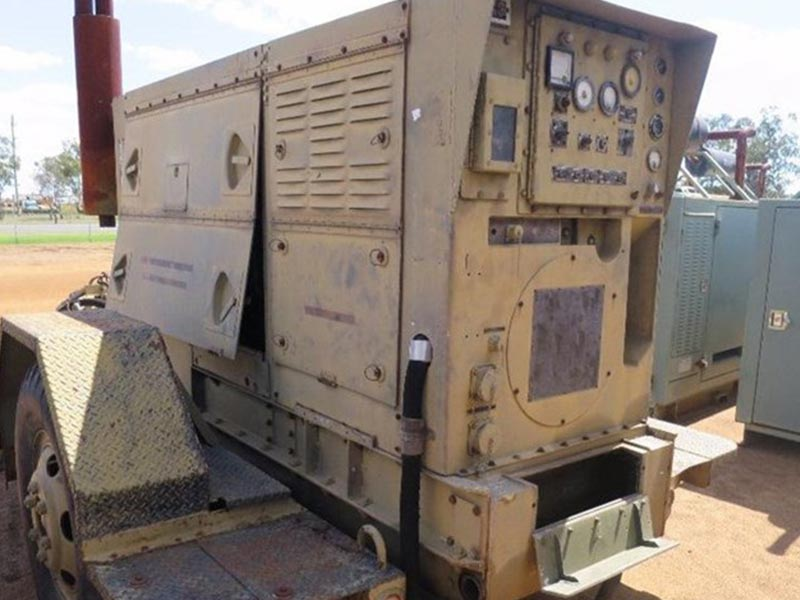 generator on trailer