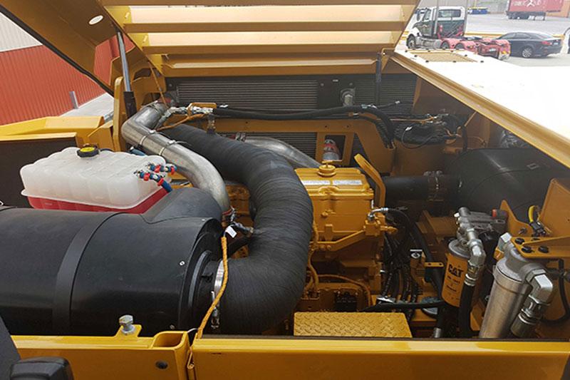 Cat PM620 profiler engine bay