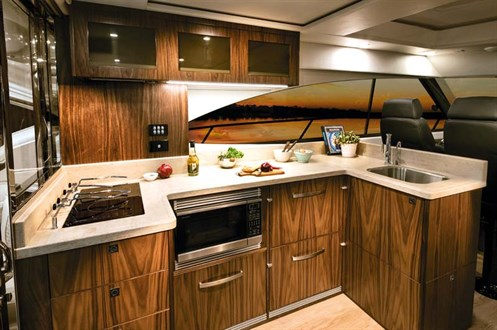 Galley in Riviera 4800
