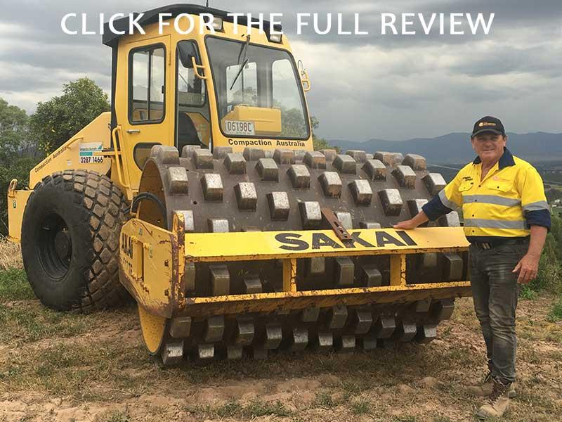 Sakai SV512TF padfoot roller review
